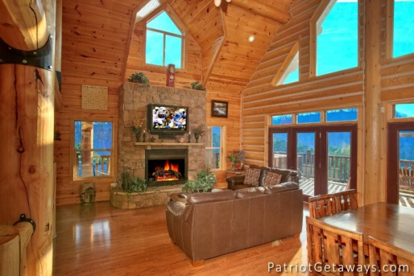 at taj mahal a 3 bedroom cabin rental located in pigeon forge