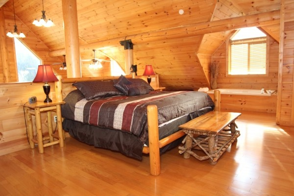 at longwalker lodge a 3 bedroom cabin rental located in pigeon forge