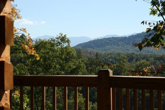 smoky mountain panoramic view from alpine romance a 2 bedroom cabin rental located in pigeon forge