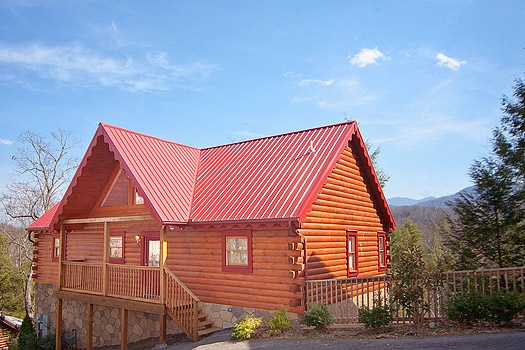 Highlander, a 4 bedroom cabin rental located in Gatlinburg