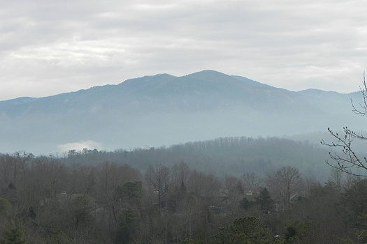 The Smoky Mountains seen from Highlander, a 4 bedroom cabin rental located in Gatlinburg