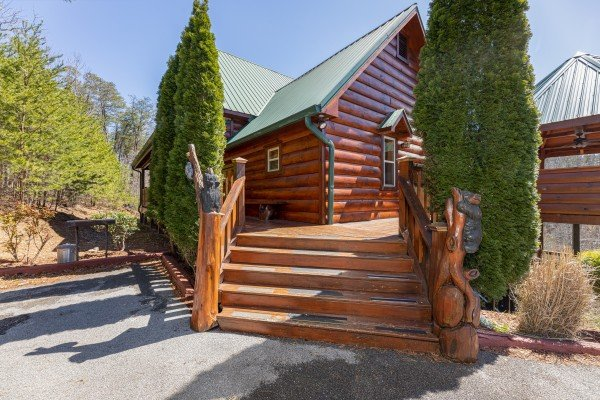 Rainbow's End, a 4 bedroom cabin rental located in Pigeon Forge