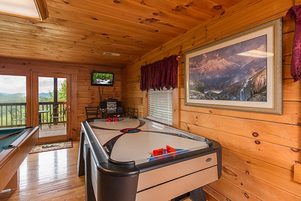 at 1 amazing view a 2 bedroom cabin rental located in pigeon forge