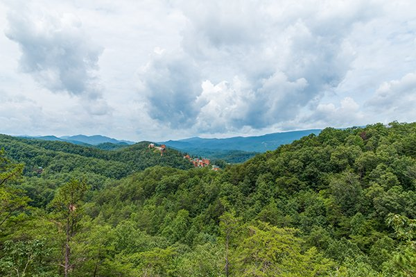 The view at 1 Amazing View, a 2 bedroom cabin rental located in Pigeon Forge