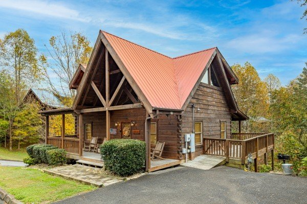 at livin' simple a 2 bedroom cabin rental located in pigeon forge