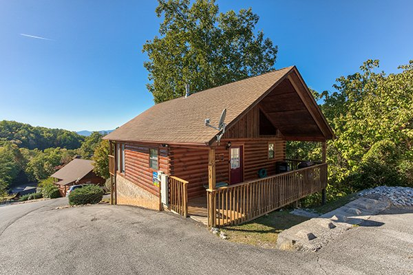 I Do, a 1 bedroom cabin rental located in Pigeon Forge