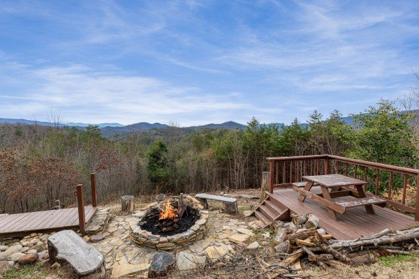 at mountain bliss a 2 bedroom cabin rental located in pigeon forge