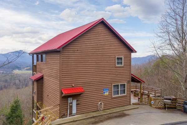 1 Awesome View, a 3 bedroom cabin rental located in Pigeon Forge