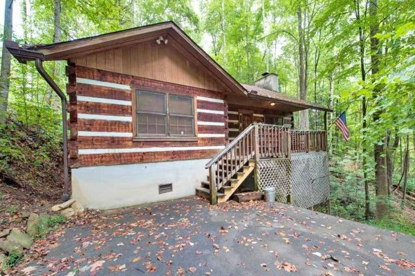 Wild at Heart, a 1 bedroom cabin rental located in Gatlinburg
