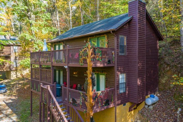 Hidden Pines, a 2-bedroom cabin rental located in Pigeon Forge