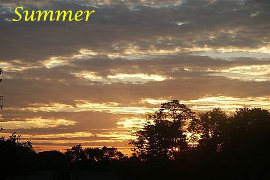 summer sunset over the smoky mountains at r & r hideaway a 1 bedroom cabin rental located in pigeon forge