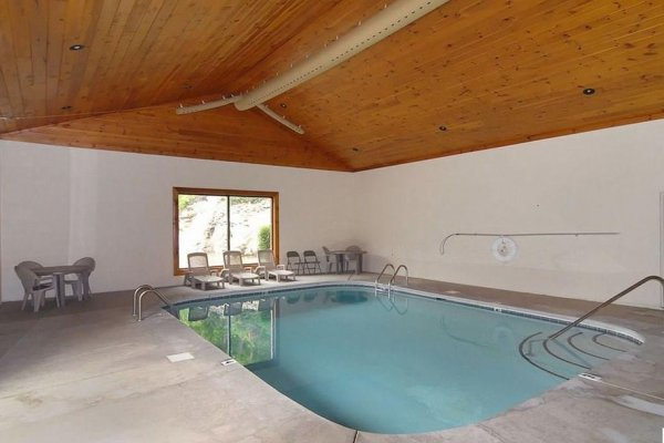 Indoor pool access for guests at Southern Comfort Memories, a 2 bedroom cabin rental located in Pigeon Forge