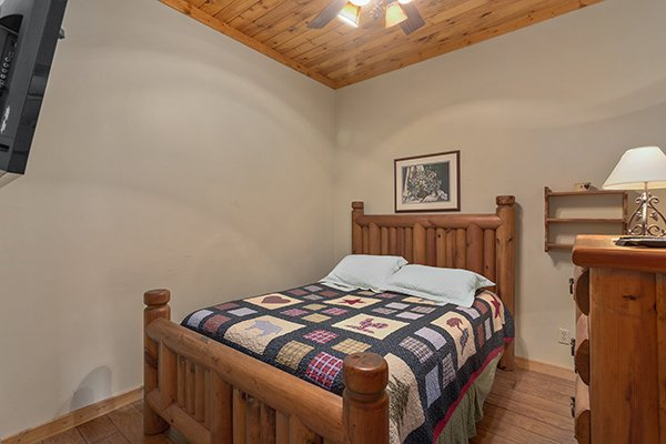 at smoky mountain memories a 2 bedroom cabin rental located in pigeon forge