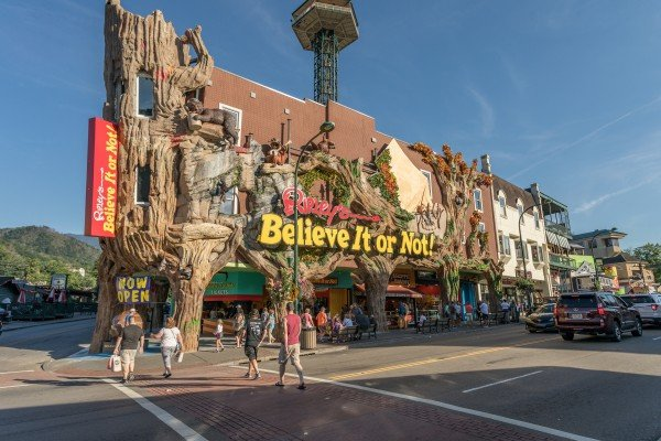 Ripley's Believe it or Not is near Paws on the Porch, a 2 bedroom cabin rental located in Gatlinburg