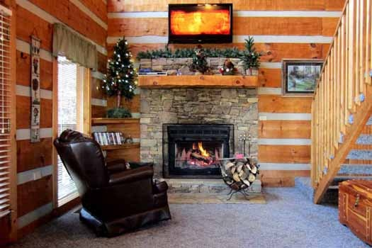 at smoky mountain romance a 1 bedroom cabin rental located in pigeon forge