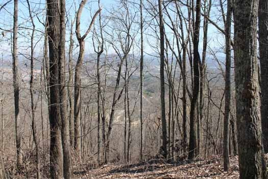 view of smoky mountains at smoky mountain romance a 1 bedroom cabin rental located in pigeon forge