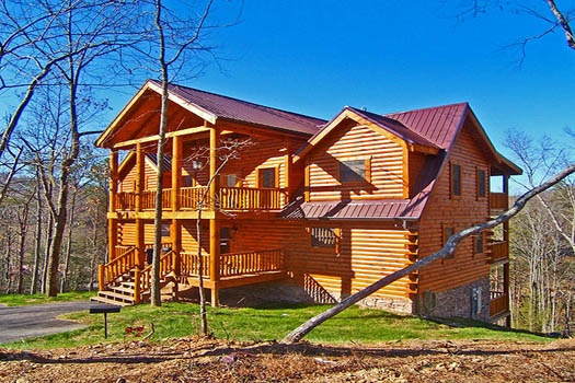lookout lodge a 4 bedroom cabin rental located in pigeon forge