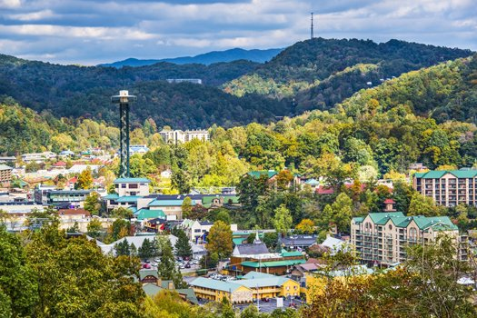 downtown gatlinburg near a beautiful river a 1 bedroom cabin rental located in gatlinburg