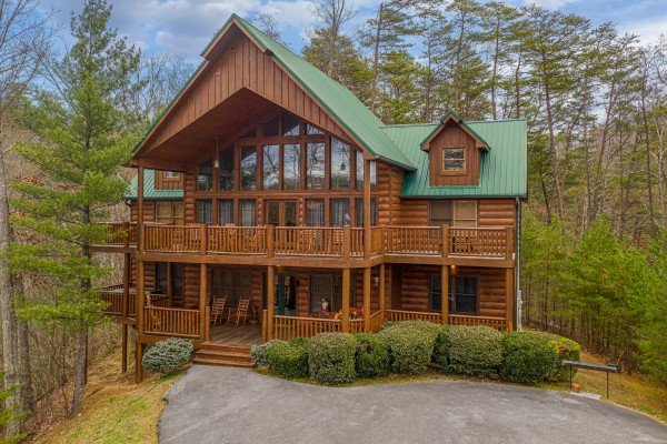 True Grit, a 5 bedroom cabin rental located in Pigeon Forge