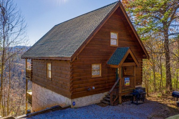 Brink of Heaven, a 2 bedroom cabin rental located in Gatlinburg