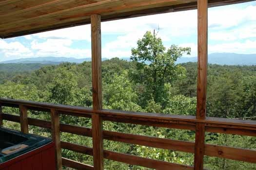 escape in the mountain views at a panoramic view a 1 bedroom cabin rental located in pigeon forge