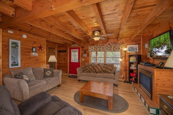 at leconte nirvana a 3 bedroom cabin rental located in pigeon forge