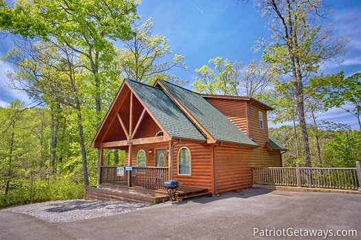 Quality Time, a 1 bedroom cabin rental located in Gatlinburg