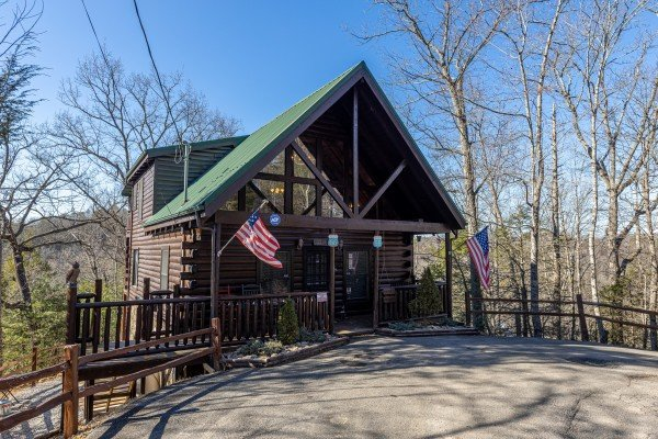 Nascar Nation, a 2 bedroom cabin rental located in Pigeon Forge