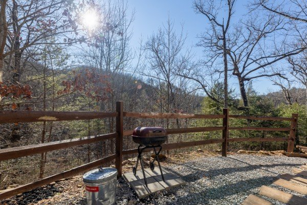 Grill at Nascar Nation, a 2 bedroom cabin rental located in Pigeon Forge