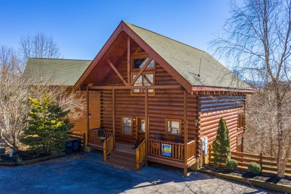 La Kiara a 3 bedroom cabin rental located in Pigeon Forge