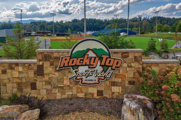 Rocky Top Sports Complex is near Bearadise on Baden, a 4 bedroom cabin rental located in Gatlinburg