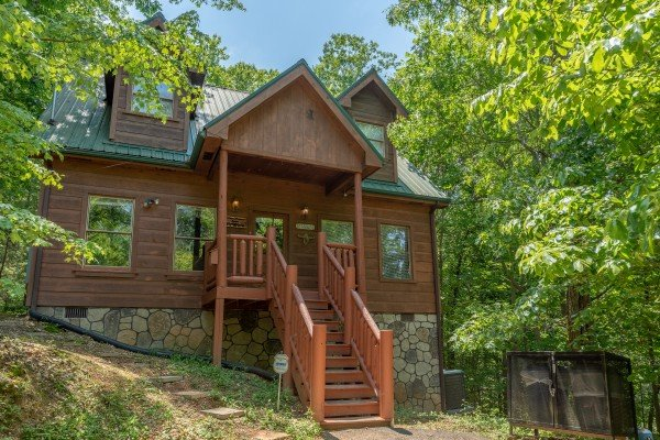 Misty Mountain Escape, a 2 bedroom cabin rental located in Gatlinburg