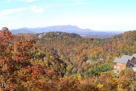 smoky mountain views from all that jazz a 1 bedroom cabin rental located in pigeon forge