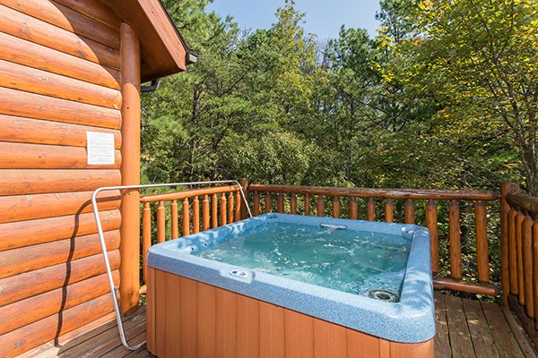 at national park view a 3 bedroom cabin rental located in pigeon forge
