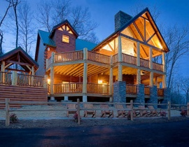 6 - 9 Bedroom Cabins in Gatlinburg & Pigeon Forge | American ...