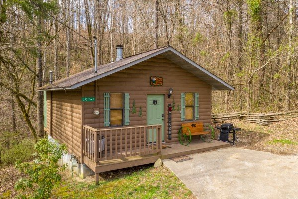 Bear Mountain Hollow, a 1 bedroom cabin rental located in Pigeon Forge