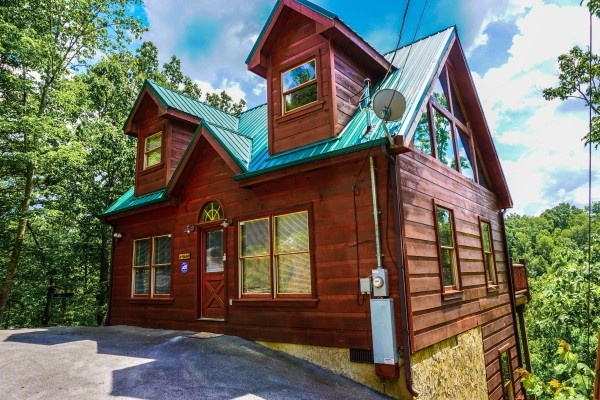 deerly beloved a 1 bedroom cabin rental located in gatlinburg