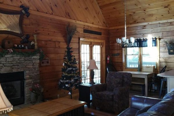 at it's a hoot a 2 bedroom cabin rental located in gatlinburg