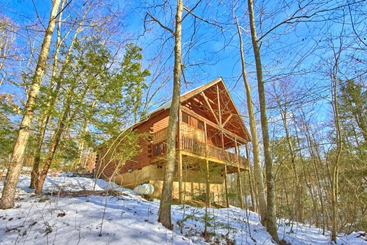 Secluded Pleasure, a 1 bedroom cabin rental located in Pigeon Forge