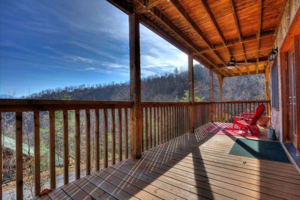 at tip top view a 2 bedroom cabin rental located in pigeon forge