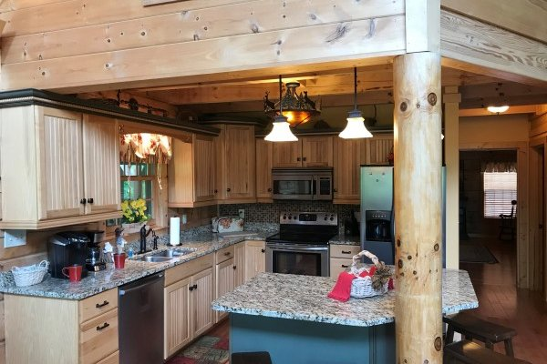 at mystic ridge a 4 bedroom cabin rental located in pigeon forge
