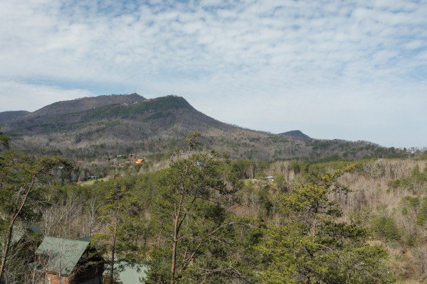 Mountain view from Better View, a 4 bedroom cabin rental located in Pigeon Forge