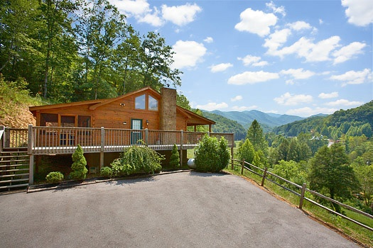 Eagle's Loft, a 2-bedroom cabin rental located in Pigeon Forge