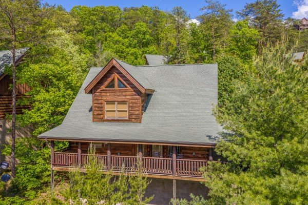 Autumn Blessings, a 2 bedroom cabin rental located in Pigeon Forge
