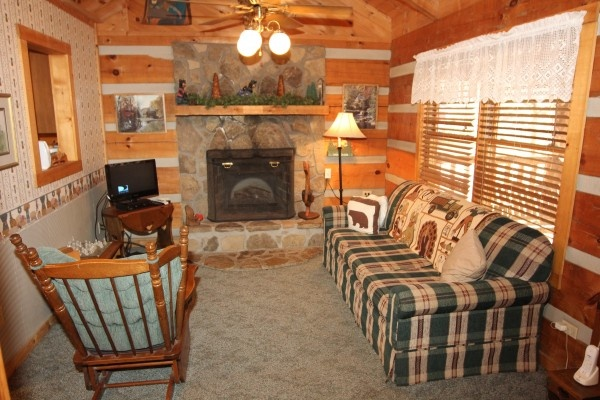 at best kept secret a 1 bedroom cabin rental located in pigeon forge