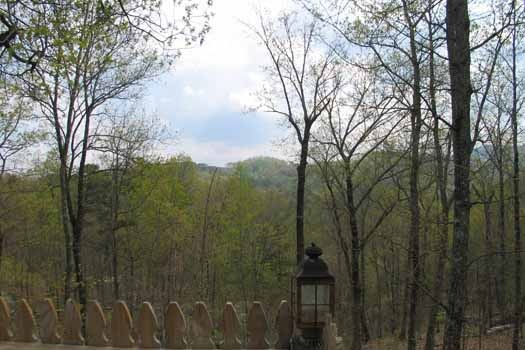 smoky mountains seen from just us a 1 bedroom cabin rental located in pigeon forge