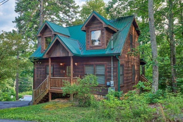 Ivy Lodge, a 1 bedroom cabin rental located in Pigeon Forge