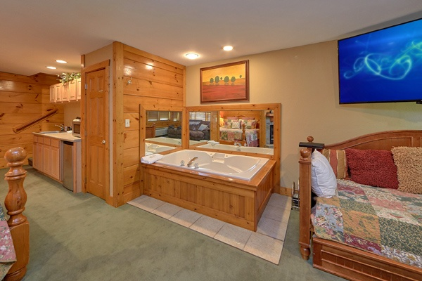 at hibernation hideaway #745 a 2 bedroom cabin rental located in pigeon forge
