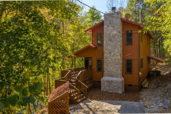 Rustic Retreat at Shagbark, a 2 bedroom cabin rental located in Pigeon Forge