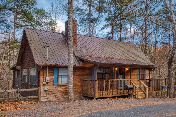 Hillside Hideaway, a 1 bedroom cabin rental located in Pigeon Forge